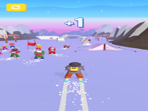 Ski Race 3D: Trama del Gioco