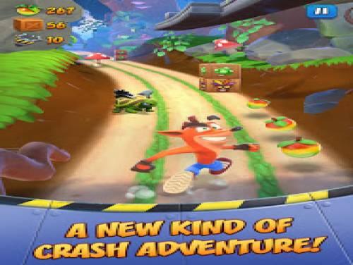 Crash Bandicoot: On the Run!: Trama del Gioco