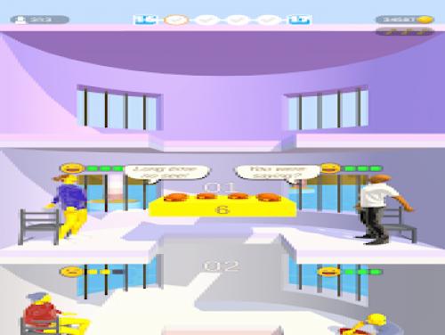 Food Platform: Plot of the game