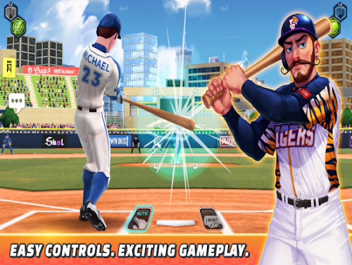 Baseball Clash: Real-time game: Plot of the game