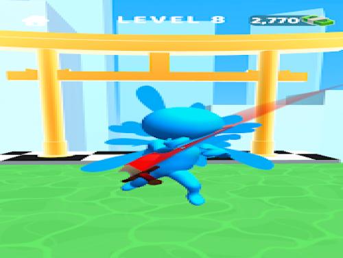 Sword Play! Spadaccino ninja 3D: Videospiele Grundstück
