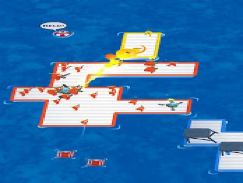 War of rafts: una pazza battaglia marina: Trama del juego